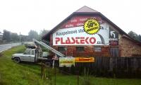 Velkoplošný banner Plasteko