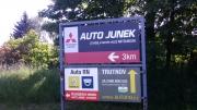 poutač Auto Junek