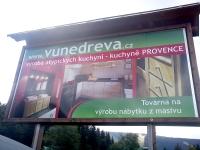 Billboard Vůně dřeva