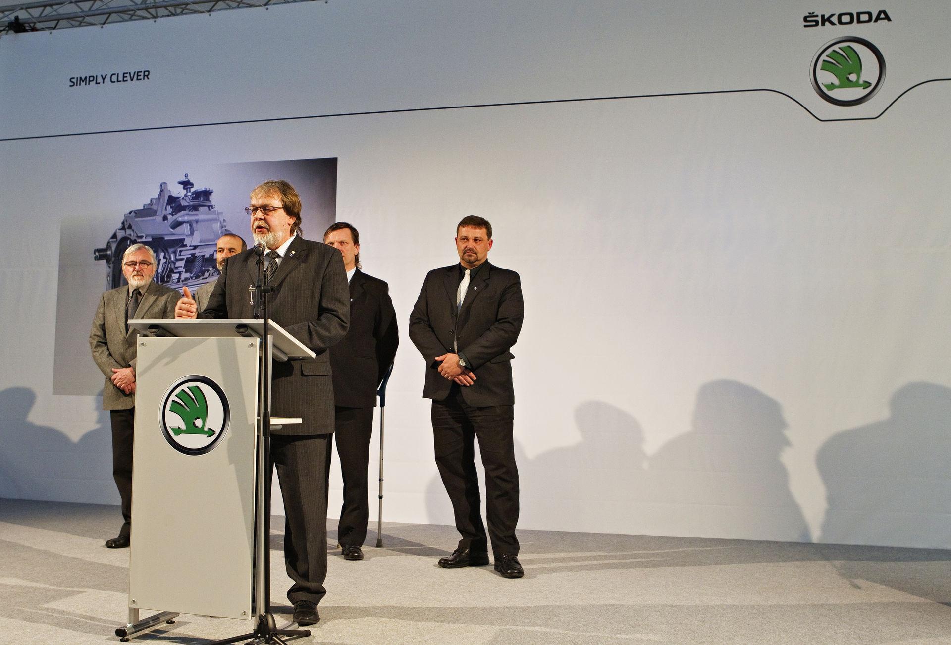 Příprava prezentace Škoda Auto Vrchlabí